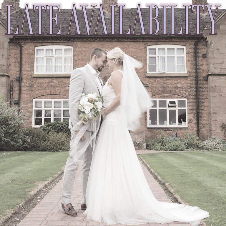 Weddings at the Heart - Late Availability Offer